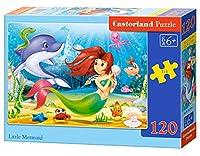 * Castorland Jigsaw Classic 120pc - Little Mermaid