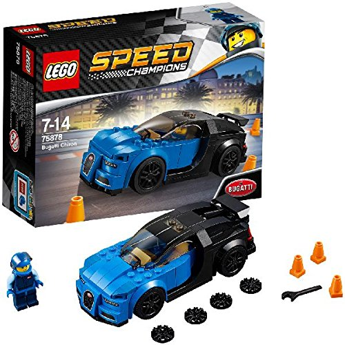 レゴ(LEGO) スピードチャンピオン ブガッティ シロン 75878の詳細を見る