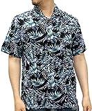 (ルーシャット) ROUSHATTE アロハシャツ 半袖 シャツ レーヨン ハイビスカス 12color M 柄B