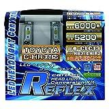 CATZ(キャズ)REFLEX(リフレックス) LED ヘッドライトコンバージョンキット HB3/HB4/HIR2 (TOYOTA C-HR対応)6000K CLC13