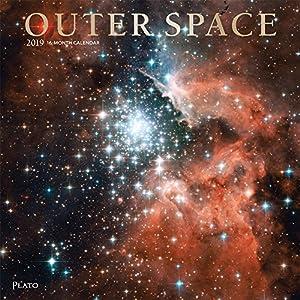 Outer Space 2019 Calendar