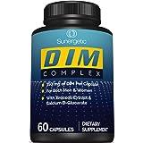 Premium DIM Supplement–Includes 150mg of DIM (diindolylmethane), Broccoli, Calcium D-Glucarate & Bioperine- DIM Capsules for
