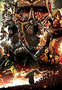 【Amazon.co.jp限定】進撃の巨人 Blu-ray 全9巻セット(初回限定仕様)(B全サイズ劇場公開告知ポスター付)