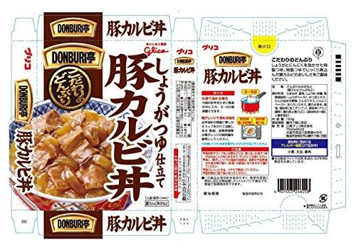 江崎グリコ DONBURI亭豚カルビ丼 160g×10個
