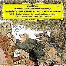 Prokofiev Peter Wolf Saintsaens Carnival