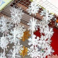 Hommy クリスマス 飾り スノーフレーク 雪の結晶 クリスマスツリー オーナメント パーティー 飾りつけ