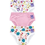 Bambino Mio, Potty Training Pants, Puddle Pigs, 2-3 Years, 3 Pack
