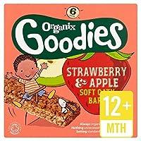 Organixグッズイチゴシリアルバーステージ4 6×30グラム - Organix Goodies Strawberry Cereal Bar Stage 4 6 x 30g [並行輸入品]