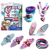 [AmaziPro8]AmaziPro8 Best Frozen Jewelry Elsa and Anna 18 Pieces Set Disneys Frozen Deluxe Jewelry Kit includes BONUS Set of Hair Pins + 3 [並行輸入品]