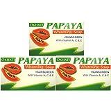 オカティ パパイヤ ソープ 135g*3Set AYURVEDEC OKHATI PAPAYA Whitening Soap/NEPAL HIMALAYA SOAP ヒマラヤ石鹸