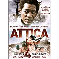 Attica With 4 Bonus Films: Hijack / Dark Side of the Sun / Black Brigade / One Down Two to Go