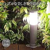 屋外用 LEDミニポールライト プラグ付き(白色)