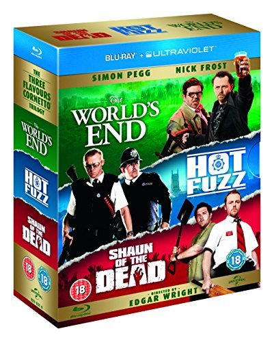 Three Flavours Cornetto Trilogy [Blu-ray] [Import]