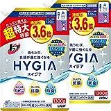 【まとめ買い 大容量】トップ ハイジア 洗濯洗剤 液体 詰め替え 超特大1300g×2個