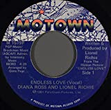"""Endless Love - Diana Ross & Lionel Richie 7"""" 45"""