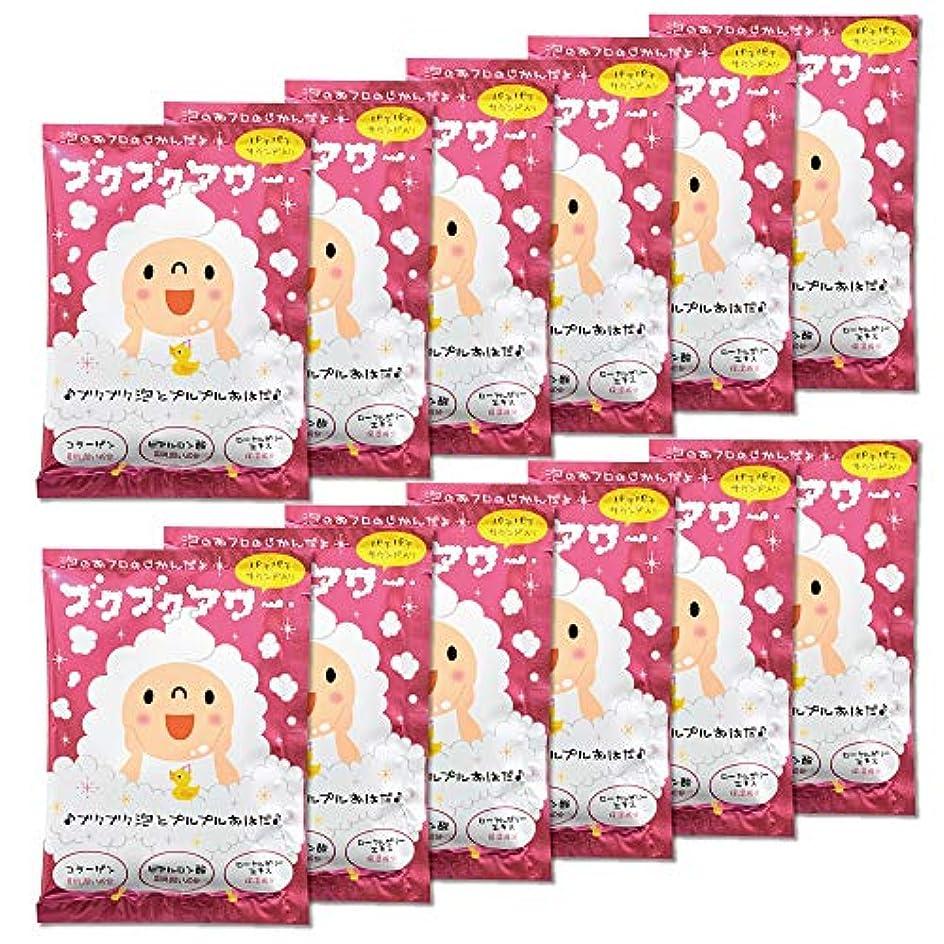 五抗議誘導ブクブクアワー 入浴剤 40g 1回分×12包入 大容量 まとめ買い