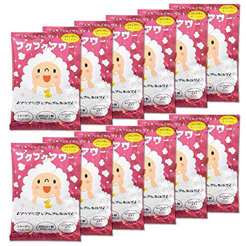 聖域ラベル常習的ブクブクアワー 入浴剤 40g 1回分×12包入 大容量 まとめ買い