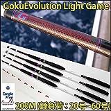 Gokuevolution ライトゲーム 200M(20-60号) パールホワイト(90105)|ゴクエボリューション タチウオ マゴチ ライトヒラメ マルイカ アジ マダイ 電動タイラバ タイサビキ