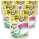 洗濯洗剤 ジェルボール3D 柔軟剤入り ボールド グリーンガーデン&ミュゲの香り 詰め替え 30個(約2倍)x8袋