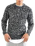 ニット メンズ カットソー セーター カシミアタッチ Vネック ニットソー 薄手 ニットセーター【q146】 スペード画像⑨
