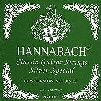 Hannabach ハナバッハ 8158 LT Silver Special, 3-Treble Set アコースティックギター アコギ ギター (並行輸入)