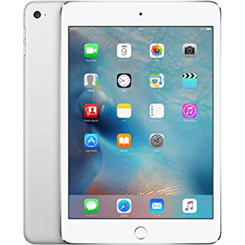 Apple iPad mini 4 Wi-Fiモデル 16GB シルバー MK6K2J/A