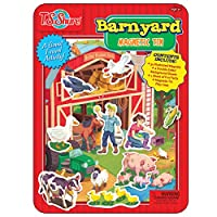 T.S. Shure Barnyard Friends Magnetic Tin Playset by T.S. Shure