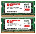 Komputerbay ノートPC用メモリ SO-DIMM-DDR3 永久保証 ECOパッケージ (1333Mhz PC3-10600 1.5V 4GBx2)