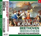 カラヤン/ベートーヴェン:交響曲第7番・8番 (NAGAOKA CLASSIC CD)