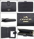 [コーチ] COACH 財布 (二つ折り財布) F11484 レザー 二つ折り財布 レディース [アウトレット品] [並行輸入品] (ブラック)