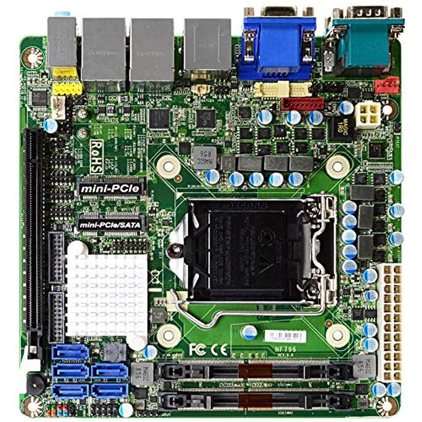 そのような主張する予約Jetway Mini ITX規格産業用マザーボード LGA1151 ソケット 第8世代Core i対応 HDMI×1、DP×1、VGA×1、USB3.1(Gen2)×4、USB2.0×2、RS232/422/485×2 ATX電源対応モデル JNF796-Q370