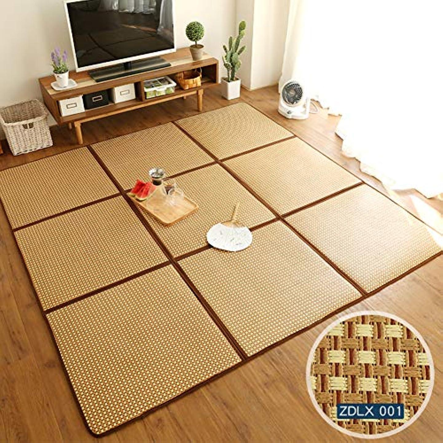 もろいオーストラリア人クリークじゃない-スリップ クロールマット,ステッチ 子供の遊びジムマット 竹マット,折り畳み式 ベッド 床マット-a 195x195cm(77x77inch)