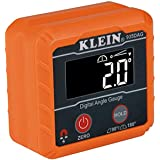 Klein Tools 935DAG Digital Electronic Level and Angle Gauge, Measures 0-90 and 0-180 Degree Ranges, Measures and Sets Angles