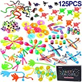 Amy&Benton 125pcs Party Favours Assortment for Kids Prize Box Toys for Classroom Pinata Loot Bag Fillers Toy Treasure Chest Birthday Gift Toys for Boys Girls 3 4 5 Years Old