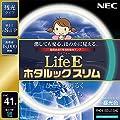 NEC 丸形スリム蛍光灯(FHC) LifeEホタルックスリム 41形 昼光色 FHC41ED-LE-SHG