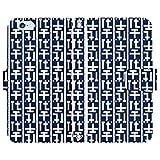 iPhone7 Plus 手帳型 ケース [デザイン:43.千代流/マグネットハンドあり] 博多祇園山笠振興会公認 やまのぼせ アイフォン スマホ カバー