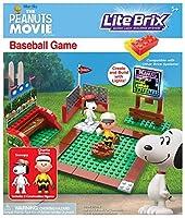 [ピーナッツ]Peanuts The Movie Lite Brix Baseball Game Set 57023 [並行輸入品]