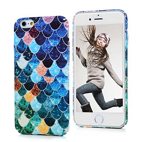 iPhone6 plus/iPhone6S plus ケース Badalink ハードケース 耐衝撃 防塵保護 綺麗な図柄 軽量薄型 キズガード PC素材 フレーク