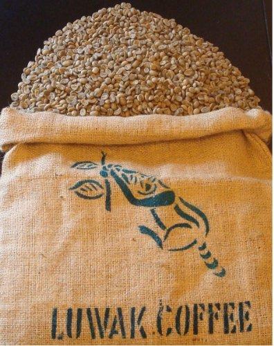 世界一高価で希少なコーヒー インドネシア コピ・ルアック焙煎したて100g(...