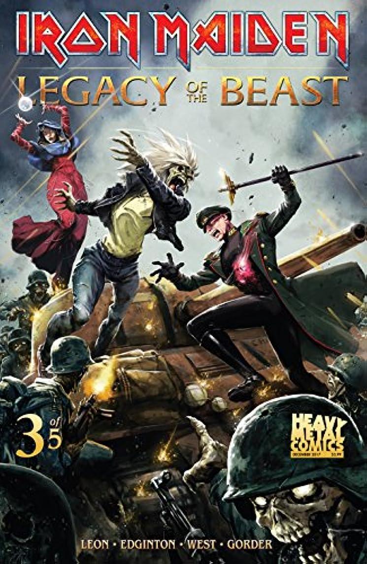 貫通する豊かな演じるIron Maiden: Legacy of the Beast #3 (of 5) (English Edition)