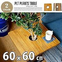 プランツテーブル スクエア60x60cm マンゴー