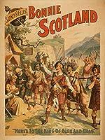 Sidney R。Ellis ' Bonnie Scotlandスコットランド再生ポスター# 4 24 x 36 Signed Art Print LANT-4291-710