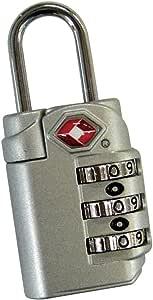 TSA 【アメリカ安全運輸局認定】  ダイヤルロック GW シルバー 686