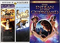 The Indian in The Cupboard & The Golden Compass + Inkheart DVD Set Classic Family Fantasy Movie Bundle 3 Film Feature