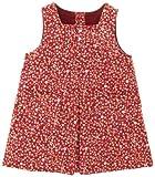 ELLE POUPON 女児ジャンバースカート 80cm レッド 478356