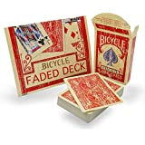 Magic Makers Faded Rider Back Red Bicycle Deck- Limited Quantities