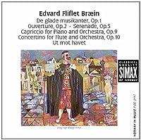 Flute Concertino / Serenade / Merry Musicians by EDVARD FLIFLET BRAEIN (1992-12-08)