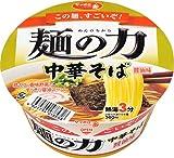 サッポロ一番 麺の力中華そば醤油味どんぶり 87g×12個