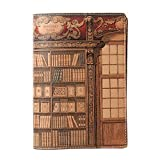 PTM ブックカバー Library 文庫サイズ タン 8672LB