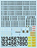 青島文化教材社 1/24 ディテールアップパーツシリーズ パトカーデカール 2020 東日本編 プラモデル用デカール